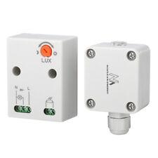 IP65 Wasserdichte Dämmerungsschalter Dämmerungssensor Sensor für Außenbereich