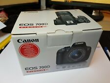 Canon EOS 700D EF-S 18-55 Kit - Digital Camera - Excellent Condition