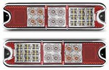 Par Led combinación deja cola indicador inversa Reflex Lámpara Trailer Cisterna