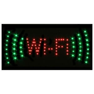 LED FLASHING SIGN WI FI -  for shop home mancave