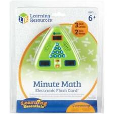 Learning Resources Minute Math Electronic Flash Card (ler6965)