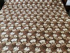 More details for huge vintage william morris design chrysanthemum minor sanderson cotton fabric