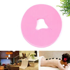 100 Pcs Disposable Bed Massage Table Face Hole Cover Non-woven Fabric Pink JH