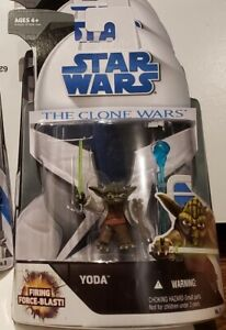 """Star Wars - Clone Wars (No.3): Yoda 3.75"""" Figure"""