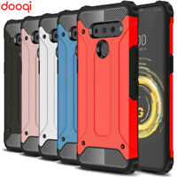 For LG V50 ThinQ 5G Luxury Shockproof Hybrid Bumper Armor Protective Case Cover
