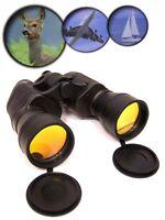 POLAROID 10x50 FERNGLAS binocular KOMPASS Feldstecher stoßfest Tasche NEU & OVP