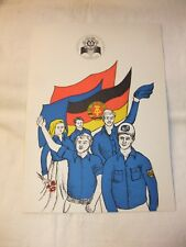 DDR Kult Ersttagsbrief Gedenkblatt Ersttagsblatt Nationales Jugendfestival 1979