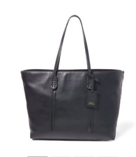 POLO RALPH LAUREN Leather Tote, MSRP $298