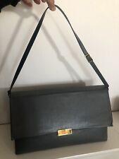 STELLA McCARTNEY Faux Nappa Grey Medium Beckett Shoulder Bag