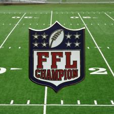Fantasy Football League Championship Key Chain
