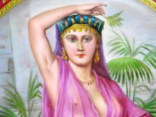 """Vienna immagine piatti orientali addominale ballerina """"fella ragazza con falciformi"""" del 1820"""