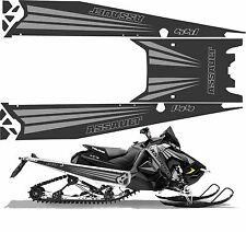 POLARIS AXYS TUNNEL decal GRAPHICS 600 RMK switchback assault  144 grey 2017 155