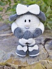 April The Easter Egg Knitting Pattern Instructions to Make Yourself KBP 236