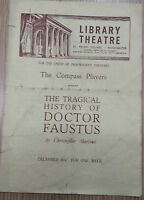 Library Theatre: Martin Heller in The Tragical History of DOCTOR FAUSTUS