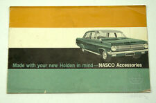 HOLDEN NASCO HD ACCESSORIES BROCHURE 1965 RARE EXCELLENT CONDITION 50 YEARS OLD