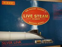 HORNBY LIVE STEAM OO GAUGE MODEL No R2367 SILVER LINK NEW BOXED