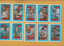 1975 Kelloggs JIM HUNTER #44 A's RARE variation TOUGH ~UNCRACKED NOT relaminated