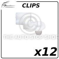 Fenêtre Pare-Brise clips clip PEUGEOT 807 Fiat Ulysee 10789 Pack de 6 Citroen C8