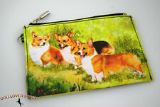 Corgi Travel Makeup Bag