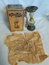 Vtg Late 1800's Drug Store Pharmacy Vapo-Cresolene Co. Lamp Style Vapor Inhalent