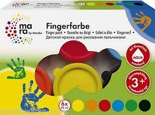 Dito vernice Dito vernice Mara di Marabu 6 x 35 ml 6 Colori (2,04€/100ml)
