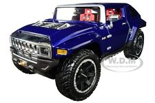 HUMMER HX CONCEPT DARK BLUE METALLIC 1/18 DIECAST MODEL CAR BY MAISTO 32117