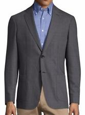New with Tag - $695 Gant Oxford Wool Blend Graphite Notch Lapel Blazer US 38 (48