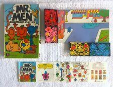 Vintage 1982 MR. MEN Colorforms 80s Color Forms Playset Little Miss Sunshine toy