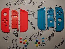 Genuine Nintendo Neon Red (L) & Blue (R) Joy Con Shells & SL/SR Buttons & SNES