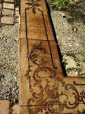 Schloss Villa Parkett Barock Intarsien Renovierung Denkmal historische Baustoffe