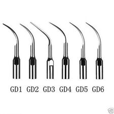 Puntas para Ultrasonidos Dental Satelec (GD1,GD2,GD3,GD4,GD5 GD6) 6 Unidades
