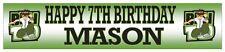 "Personalised Ben 10 Banner (21cm x 90cm / 8"" x 36"")"