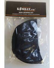 Kombat Black Mini Sewing Kit Bushcraft Survival Military Kit