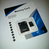 32GB Micro SD SDHC Memory Card TF Flash microSD Class 10 FREE SD Adapter Retail