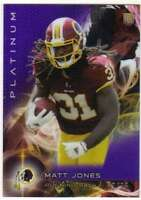 2015 Topps Platinum Rookies Purple Refractor /75 RC #111 Matt Jones Redskins