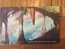 POSTCARD UNUSED LINEN- VIRGINIA, NEW MARKET SKYLAND...ENDLESS CAVERNS