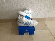 ADIDAS TOP TEN HI in 43 1/3 UK 9 US 9.5 NUOVO BNWT 382747 Retrò produce 02/2002