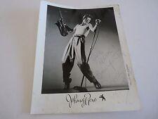 JOHNNY RENO Sax Vintage Autographed Signed 8x10 Photo PSA Guaranteed READ
