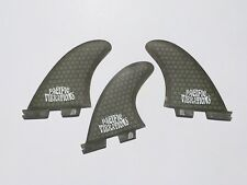 PACIFIC VIBRATIONS FCS2 FCSII 2.1 fin Kelly Slater Template TRI 3 SURFBOARD FINS