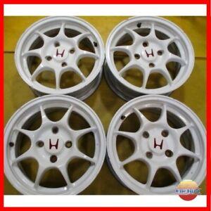 【FINAL SALE】JDM Honda Acura Integra Type R DC2 DB8 4x114.3 15X6J Rims Wheels