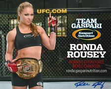RONDA ROUSEY SIGNED 8x10 PHOTO W/PROOF