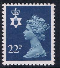 GB QEII Irlanda del Nord. SG ni53 22p blu tipo I PP. REGIONALE Machin