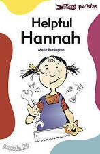 Helpful Hannah (Pandas), New, Burlington, Marie Book