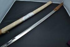 Japanese Samurai real sword Katana sharp steel blade shirasaya Edo antique