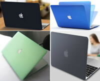 Matte Hard Case Shell Cover Screen Protector for Apple All MacBook Air Pro 13 15