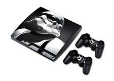 PS3 Slim Playstation 3 Console Skin Decal Sticker StormTrooper Custom Design Set