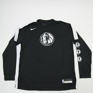 Dallas Mavericks Nike NBA Authentics DriFit Long Sleeve Shirt Men's