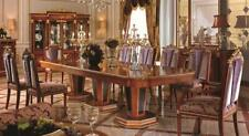 Dining Table 8 Chairs Chair Dining Room Set Baroque Rococo Tables Table E38 New