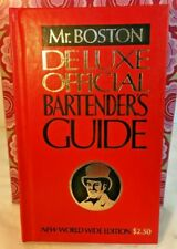 Mr. Boston Deluxe Official Bartender's Guide New Worldwide Edition 1974