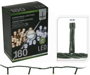 Lumineo Lichterkette 180 LEDs 18m 8 Programme warmweiss kaltweiss Indoor Outdoor